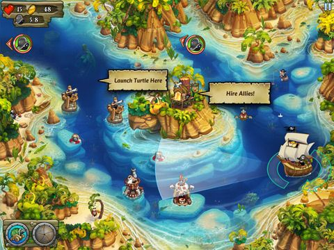 Pirate legends screenshot 1