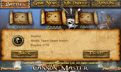 Pirates 3D Cannon Master screenshot 1