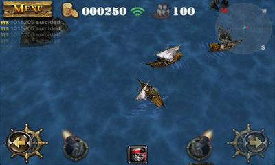 Screenshots do Pirates 3D Cannon Master - Perigoso para tablet e celular Android.