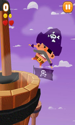 Screenshots of the Pirates Captain Clumsy for Android tablet, phone.