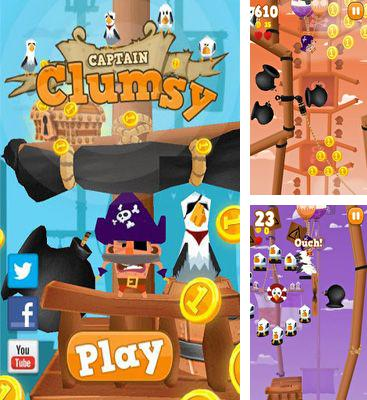 In addition to the game Little Chomp for Android phones and tablets, you can also download Pirates Captain Clumsy for free.
