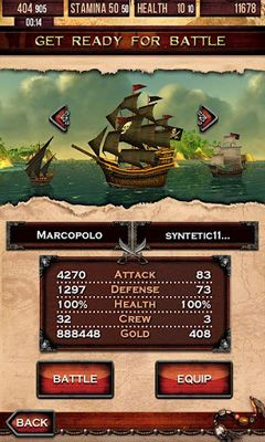 Download Pirates of the Caribbean. Master of the seas. Android free game.