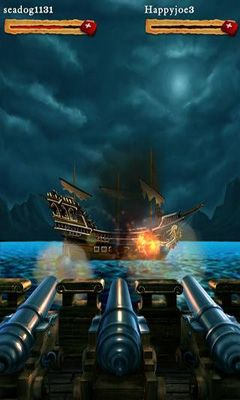 Écrans de Pirates of the Caribbean. Master of the seas. pour tablette et téléphone Android.