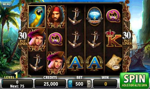 Kostenloses Android-Game Piraten der dunklen See: Slots. Vollversion der Android-apk-App Hirschjäger: Die Pirates of the dark seas: Slots für Tablets und Telefone.