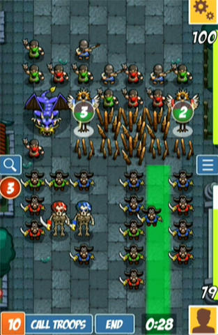 Pirates vs ninjas: 2 player game screenshot 2