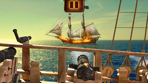 Pirates vs. zombies by Amphibius developers screenshot 1