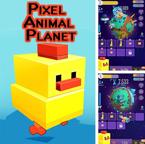 Pixel animal planet
