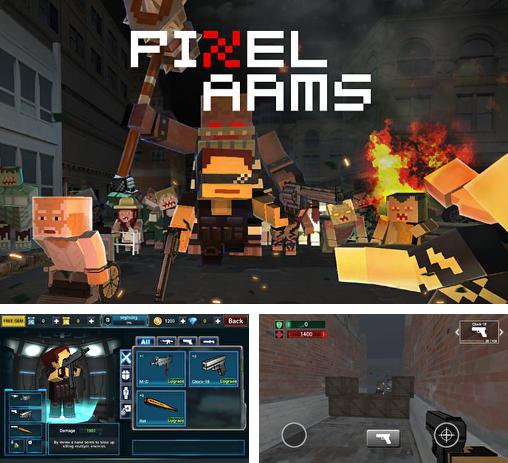 In addition to the game Pixel combat multiplayer HD for Android phones and tablets, you can also download Pixel arms for free.