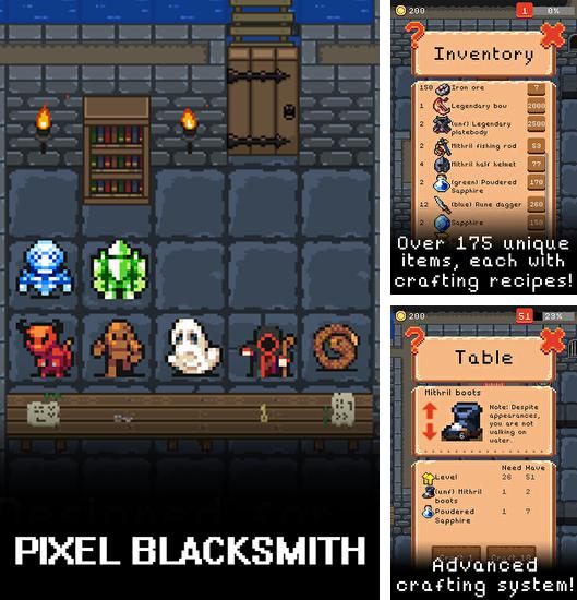 Pixel blacksmith