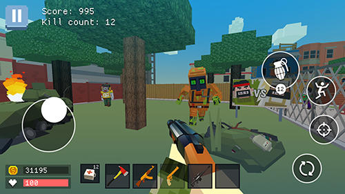 Download Pixel combat: World of guns Android free game.
