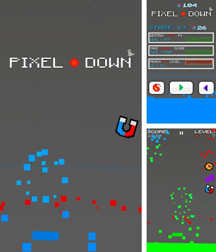In addition to the game Big air war for Android phones and tablets, you can also download Pixel down for free.