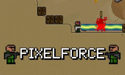 Pixel force poster