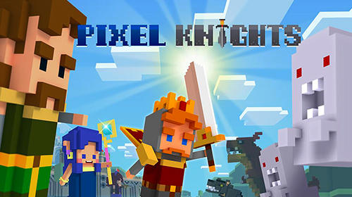 Pixel knights poster