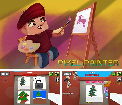Pixel painter: Drawing online