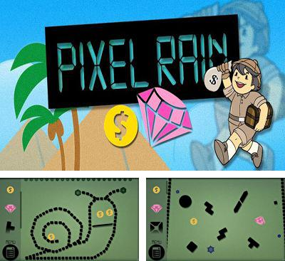 In addition to the game Leaky Pipes for Android phones and tablets, you can also download Pixel Rain for free.