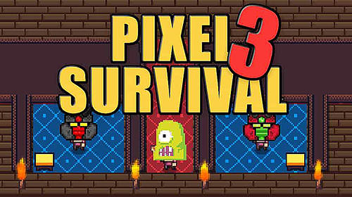 Pixel survival game 3 poster