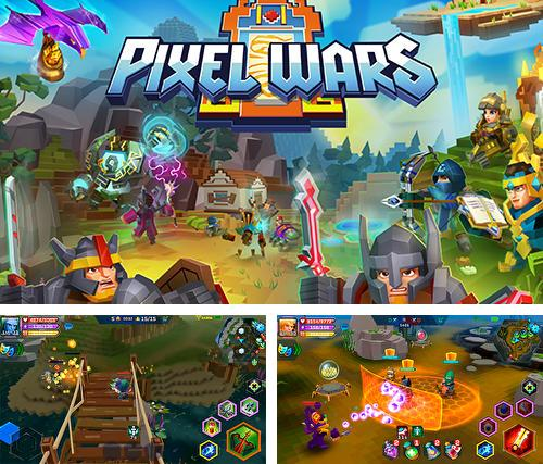 Pixel wars: MMO action