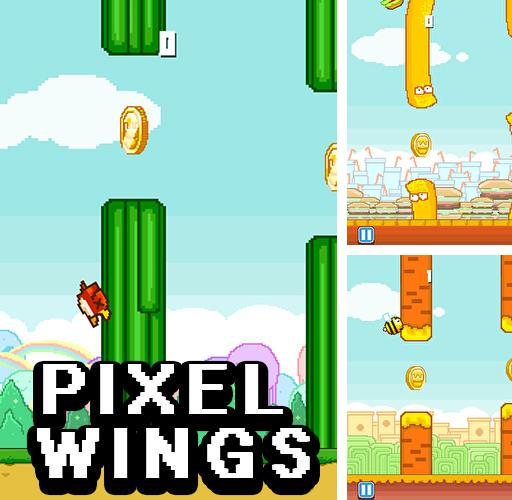 Pixel wings