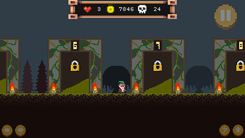 Pixel wizard: 2D platform RPG for Android - Download APK free