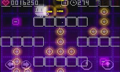 Screenshots of the Pix'n Love Rush for Android tablet, phone.