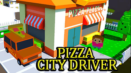 Pizza city driver poster