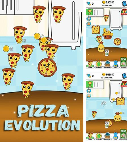 Pizza evolution: Flip clicker