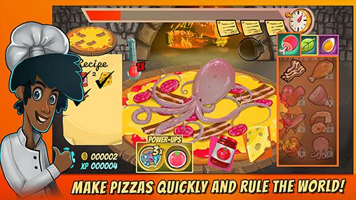 Screenshots von Pizza mania: Cheese moon chase für Android-Tablet, Smartphone.