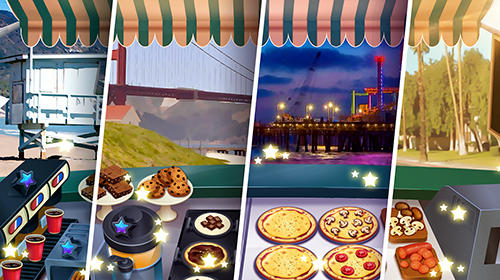 Kostenloses Android-Game Pizza Truck California: Fast Food Kochspiel. Vollversion der Android-apk-App Hirschjäger: Die Pizza truck California: Fast food cooking game für Tablets und Telefone.