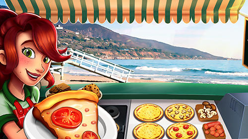 Screenshots von Pizza truck California: Fast food cooking game für Android-Tablet, Smartphone.