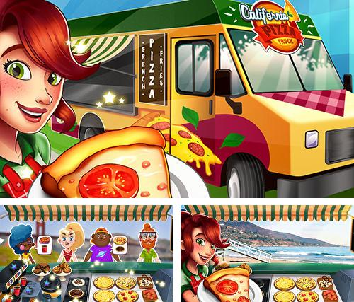 En plus du jeu 12 châteaux: Chambre de cire à modéler pour téléphones et tablettes Android, vous pouvez aussi télécharger gratuitement Camion de pizza California: Jeu de fast food, Pizza truck California: Fast food cooking game.