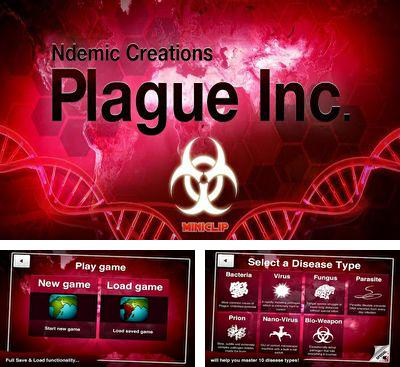 In addition to the game Akinator the Genie for Android phones and tablets, you can also download Plague Inc for free.