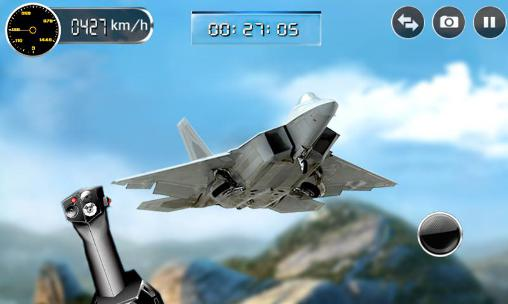 Screenshots von War plane 3D: Fun battle games für Android-Tablet, Smartphone.