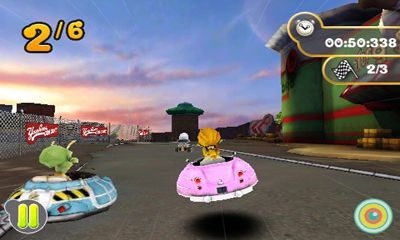 Download Planet 51 Racer Android free game.