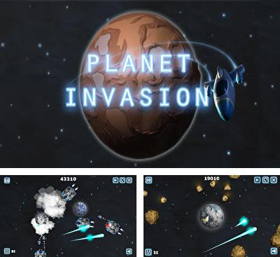 In addition to the game Hank Hazard. The Stunt Hamster for Android phones and tablets, you can also download Planet Invasion for free.