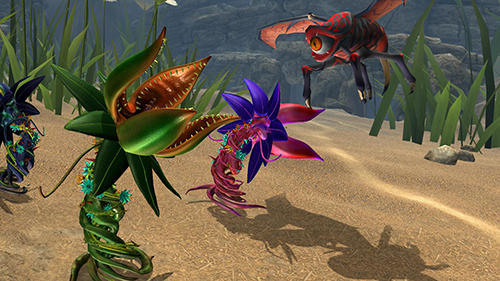 Screenshots von Plant monster simulator für Android-Tablet, Smartphone.