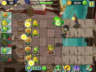安卓平板、手机Plants vs Zombies 2截图。