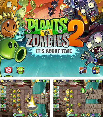 In addition to the game Plants vs Zombies 2 for Android, you can download other free Android games for Ergo SmartTab 3G 4.5.