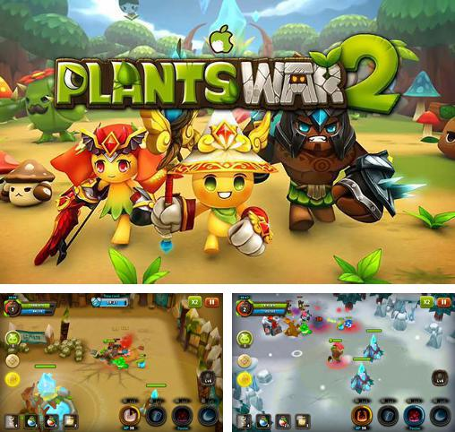 In addition to the game Plants war 2 for Android, you can download other free Android games for Toshiba Excite Go 7.0.