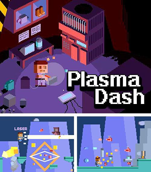 Plasma dash: Run and guns endless arcade game