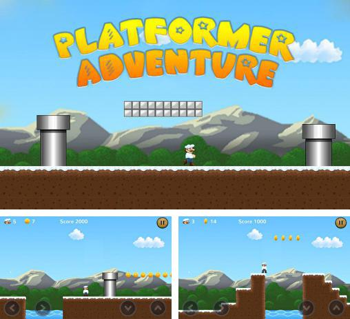 In addition to the game Mike's world for Android phones and tablets, you can also download Platformer adventure for free.