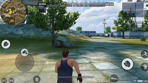 Screenshots von Player unknown's battlegrounds (PUBG) für Android-Tablet, Smartphone.