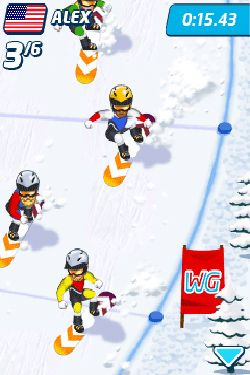 Screenshots von Playman: Winter Games für Android-Tablet, Smartphone.