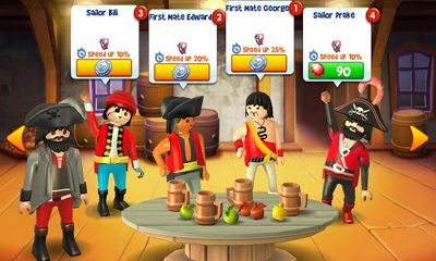 Kostenloses Android-Game Playmobil Piraten. Vollversion der Android-apk-App Hirschjäger: Die PLAYMOBIL Pirates für Tablets und Telefone.