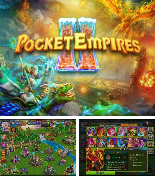 In addition to the game Colossatron for Android phones and tablets, you can also download Pocket empires II for free.