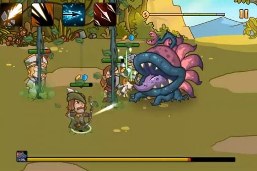 Screenshots von Pocket heroes für Android-Tablet, Smartphone.