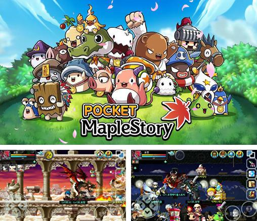 In addition to the game MapleStory Live Deluxe for Android phones and tablets, you can also download Pocket maplestory for free.