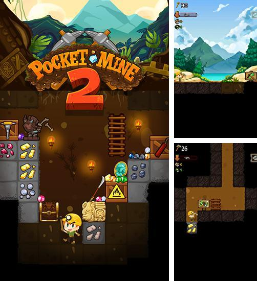 In addition to the game Gem Miner 2 for Android phones and tablets, you can also download Pocket mine 2 for free.