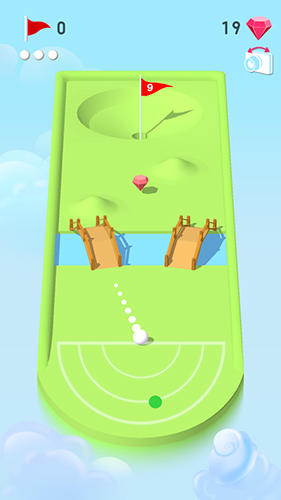 Pocket mini golf screenshot 1