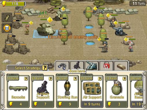 Screenshots do Pocket platoons - Perigoso para tablet e celular Android.