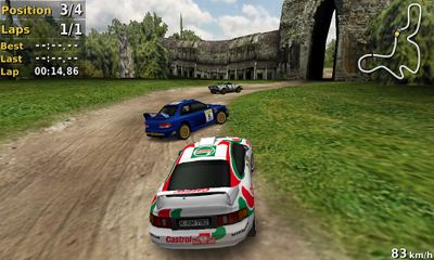 Screenshots von Pocket Rally für Android-Tablet, Smartphone.